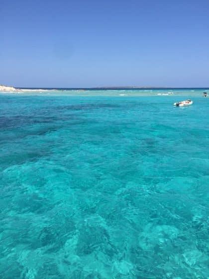 ilha de Formentera em Ibiza