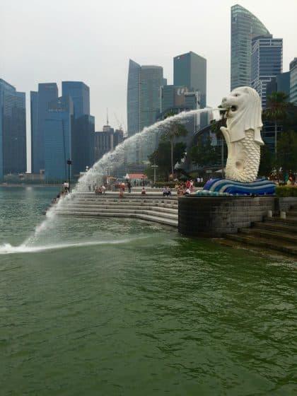 Merlion Park, em Singapura