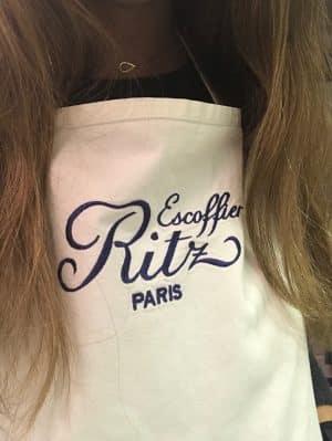 Ritz Escoffier - Aula de Culinária em Paris