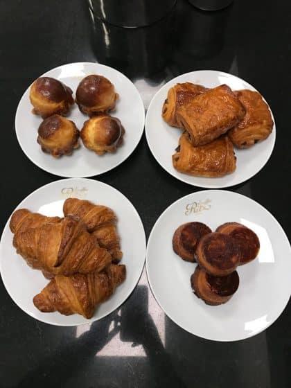 Kouign-Amann no Ritz Escoffier - Aula de Culinária em Paris