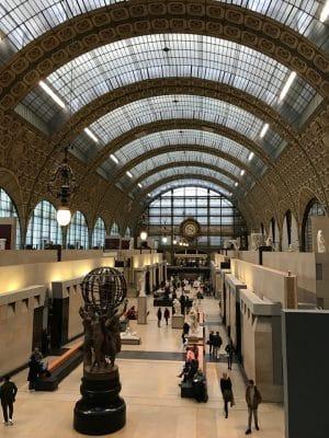 Musée D'Orsay, museu em Paris, França.