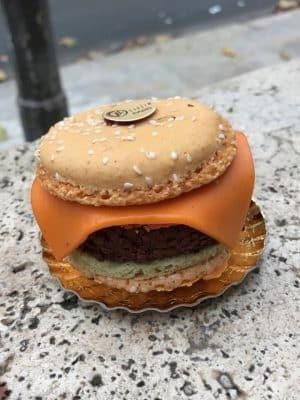 macaron burger de Philippe Gosselin - As Melhores Padarias e Confeitarias de Paris