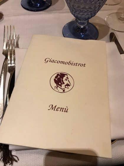 Onde comer em Milão - Giacomo Bistrot