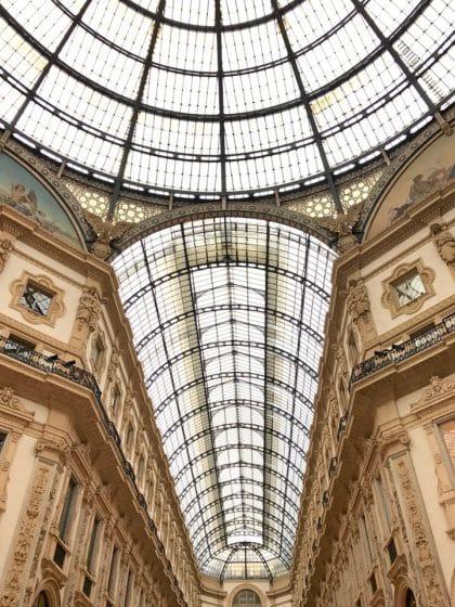 Galleria Vittorio Emanuele - Milão, Itália