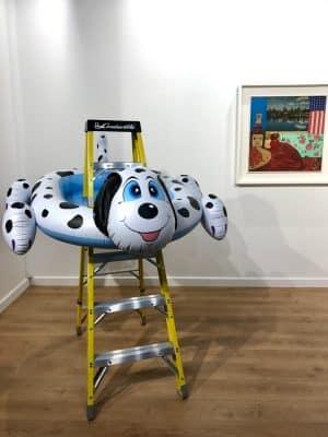 Feira de arte no Convention Center - Miami