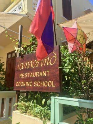 Onde comer em Luang Prabang - Restaurante Tamarind