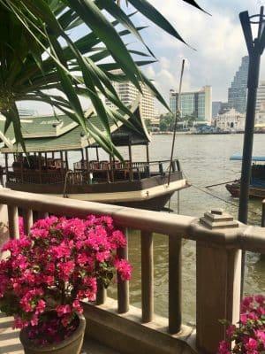 Barraquinhas em Bangkok, Tailândia