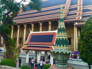 Grand Palace em Bangkok, Tailândia