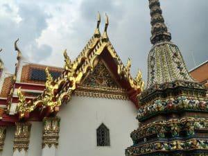 Wat Pho, Buda Inclinado em Bangkok, Tailândia