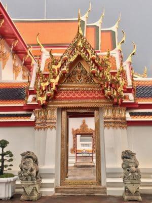 Wat Pho em Bangkok, Tailândia