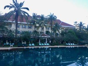 Onde se hospedar em Siem Reap, Grand Hotel D'Angkor, Camboja