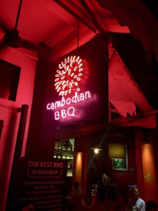 Onde comer em Siem Reap, Khmer BBQ, Camboja