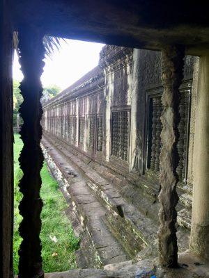 Preah Pean, Galeria dos Mil Budas, Templo Angkor Wat, Siem Reap, Camboja