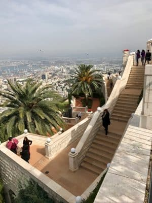 Haifa, o maior centro de high-tech de Israel, em Tel-Aviv