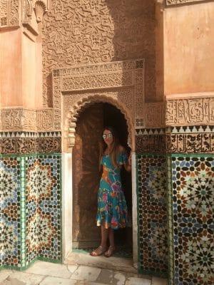 Medersa Ben Youssef - Marrakech. Marrocos