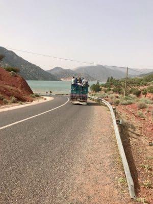 Tizi´n´Test Road, Marrocos - Lago Ouirgane