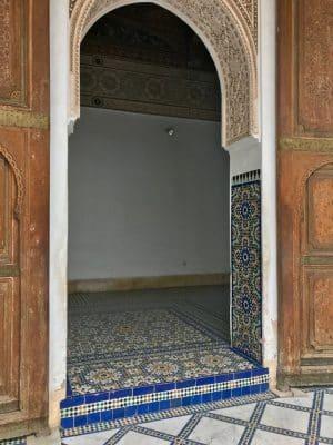 Bahia Palace - Marrakech. Marrocos