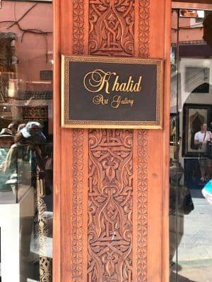 Khalid Art Gallery - Marrakech. Marrocos