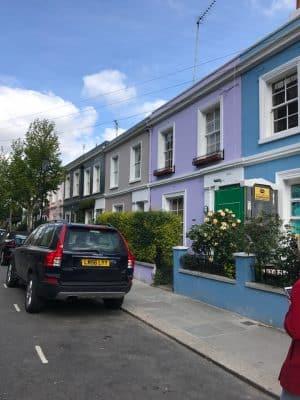 Notting Hill, Londres - Portobello Road