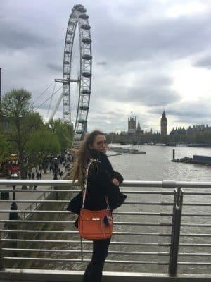 Londres - London Eye + Millenium Bridge