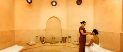 Imlil, Marrocos - Hotel Kasbah Tamadot - Hammam