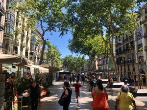 Barcelona em 36 Horas - La Rambla