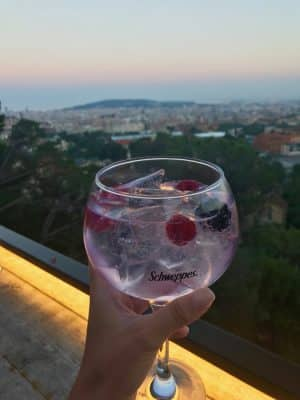 Barcelona em 36 Horas - Bar Mirablau Balconet