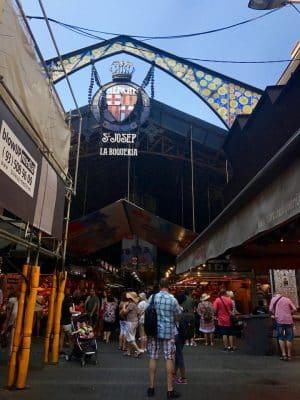 Barcelona em 36 Horas - Mercat de la Boqueria