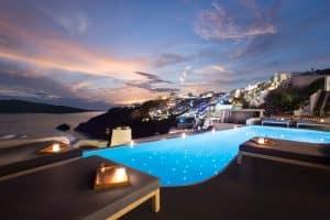 Katikies Hotel - Santorini, Grécia