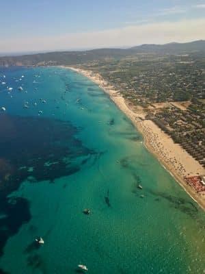 St Tropez - Plage de Pampelonne