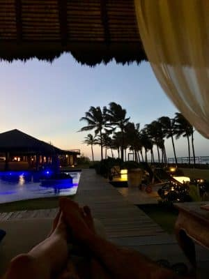 Fim de Tarde no Zorah Beach Hotel - Praia de Guajiru, Trairi, Ceará