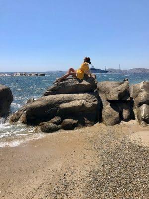 Mykonos em Julho - Scorpios