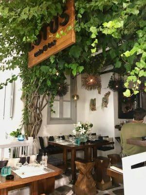 Mykonos em Julho - Restaurante Lotus