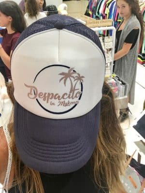 Mykonos em Julho - Compras no Centrinho - Shopping